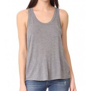 T Alexander Wang Classic Cropped Pocket Tee